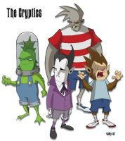 The Cryptics by Bloodzilla-Billy