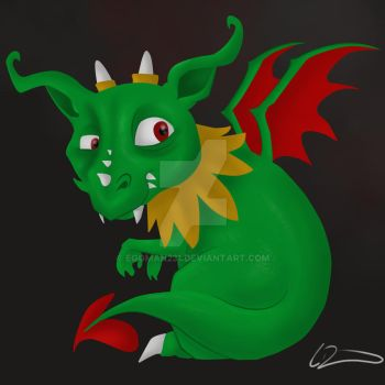 baby dragon-Recovered by eggman231