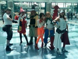 The Final Fantasy Cosplayers by SoraSkater