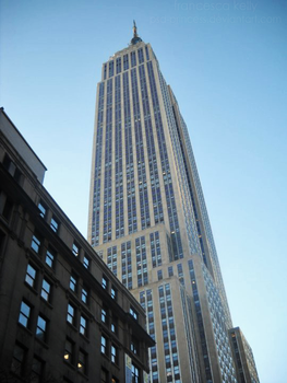 Empire State Building by Psd-Princess