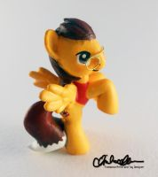 Blind Bag OC JD- custom MLP by thatg33kgirl