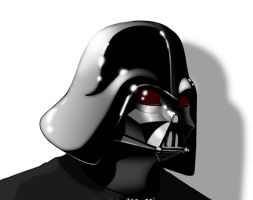 Darth Vader Portrait by Kronosaurus82