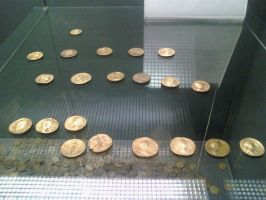 OLD GOLD COINS by bordeauxman