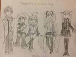 A Vocaloid+Utauloid day by Shmivey
