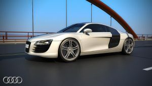 Audi R8 Render 2 by view