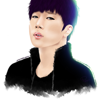 [Fanart] Kim Sunggyu | Back by eternalxgyu