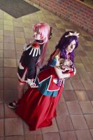 Utena, Anthy and Chuchu by Tionniel