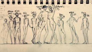 line up by SucroseFiction