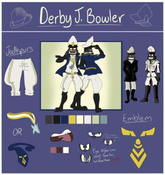 Derby J. Bowler// Reference Sheet by BowlerDerby