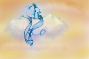 Altaria- Redrawn by Nalenthi