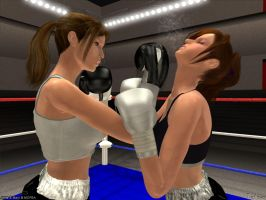 Gift for MCPBA- Anne vs Mary 3 by Tetsuo72