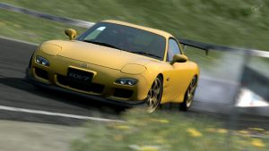 Mazda RX-7 FD3S Drift by PokemonIsTheBest