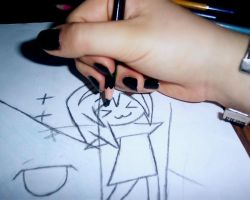 Draw with me.....working on by A-Negative-Blood