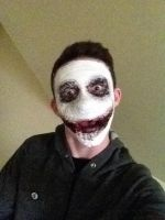 Jeff the Killer: Makeup by MagicFrogDude