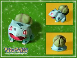 .Bulbasaur Papercraft.