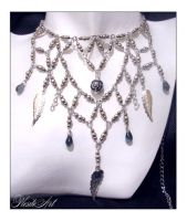 Fascination royal necklace by PLESITEArt