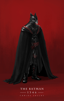 The Batman - Year 1346 (full body with cape) by chicopixel