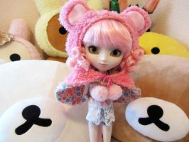 Rilakkuma and Pullip by Milk-and-Bunny