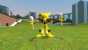 My new alakazam by lamo123