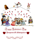 Happy Valentine's Day Penguins of Madagascar by FairytalesArtist
