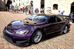 Purple Lexus ISF by whendt