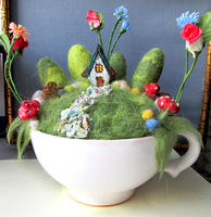 fairy house in a cup by 95n