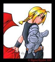 FMA - Smexxah Ed Colored by Re by The-Short-Ones