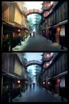 Asian street - Mattepainting by Grimhel
