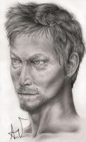 Norman Reedus by JustSurpriseYourself