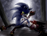 When Darkness takes over by f-sonic