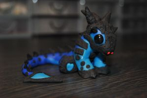 Baby Ice Dragon by KirstenBerryCrafts