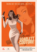 Retro SDCC Scarlett Poster by DESPOP
