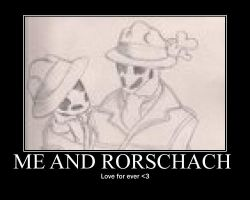 Me and Rorschach by jason-the-13th