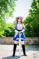 Dat Erza...Satsuki's pose? NAHHHHH by SCARLET-COSPLAY