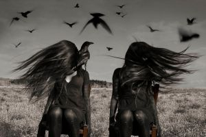 The Field of Crows. by westface