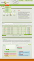 Admin panel theme by kjaman