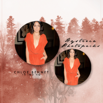 Photopack 572 // Chloe Bennet by HysteriaPhotopacks