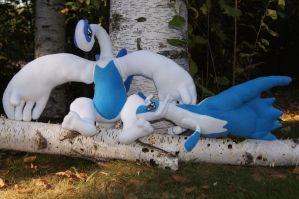 Lugia and Latios Trade Complete by Rammgirl30