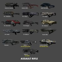 Assault Rifle by nach77