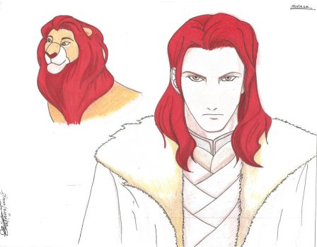 Mufasa, human form by Velascoprofile