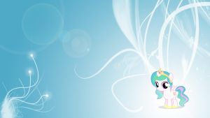MLP: FiM - Celestia - Filly by Unfiltered-N