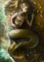Mermaid by Elvanlin