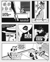 Dime Store Noir Sample Page by TheNoirGuy
