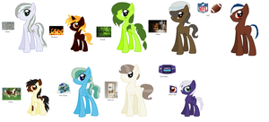 Pictured Pony Adopts by vega37