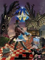 Little Alice in wonderland T2 Q by FTacito