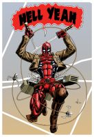 Attack on Deadpool by Jesterman