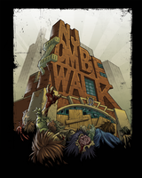 zombie walk poster by jay1278