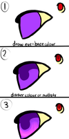 Eye Tutorial by Kitsurie
