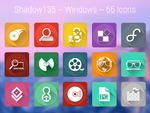 Shadow135 ~ Windows Icons by BlackVariant