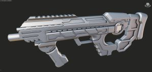 WIP - Halo Concept SMG by ImBrokeRU